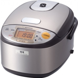 Zojirushi NP-GBC05-XT Induction Heating System Ricer Cooker and Warmer - Small Rice Cooker