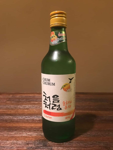best flavored soju other flavors tested chum churum soju citron
