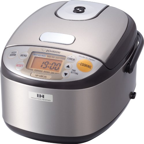 Best Induction Rice Cooker - Zojirushi NP-GBC05XT Induction Heating System Rice Cooker