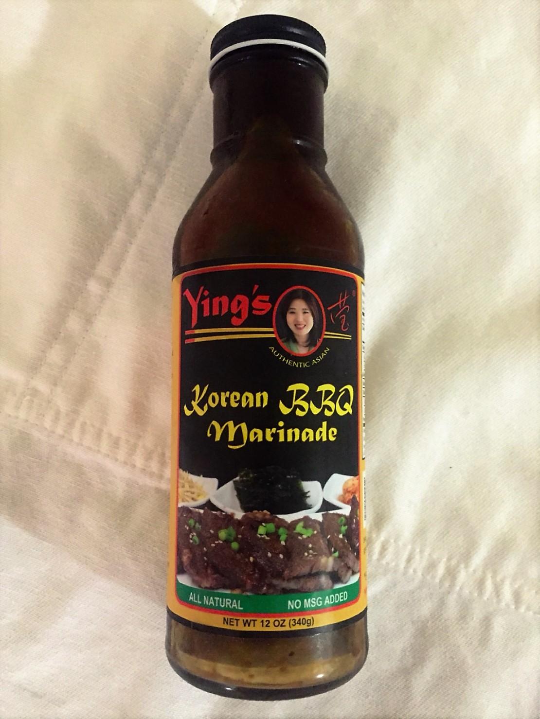 Ying's Korean BBQ Marinade - Best Bulgogi Marinade Sauce on Shelves Today