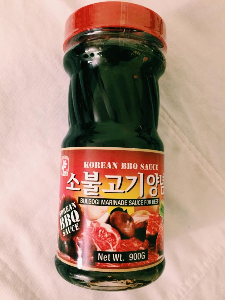 Sasum Deer Korean BBQ bulgogi marinade sauce