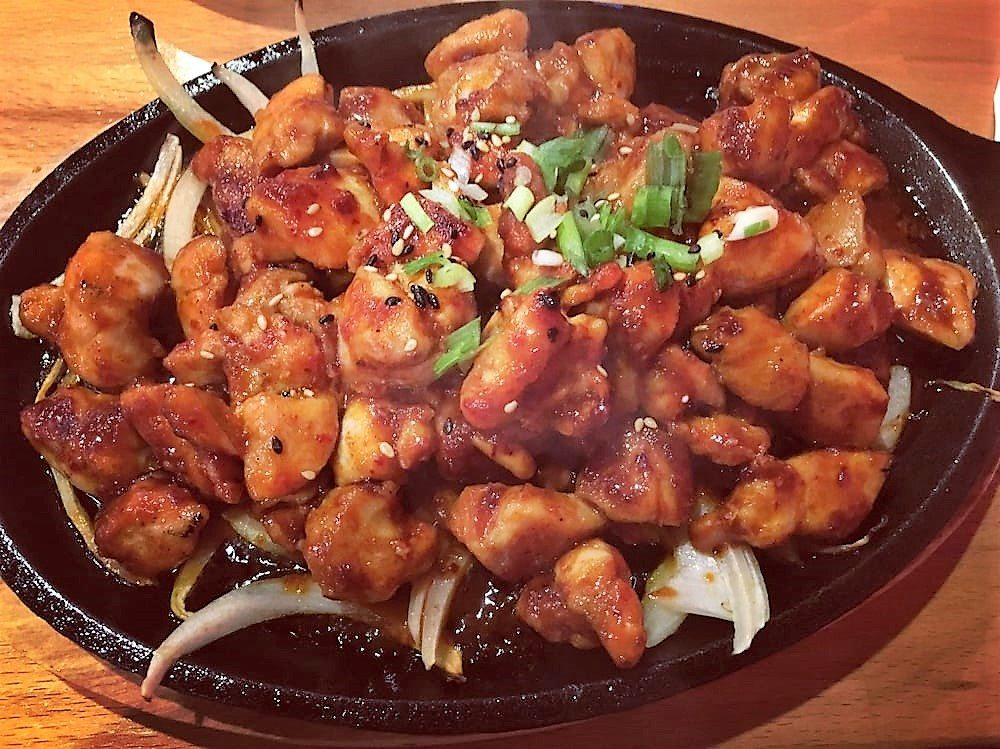 koreatown arizona spicy chicken bulgogi