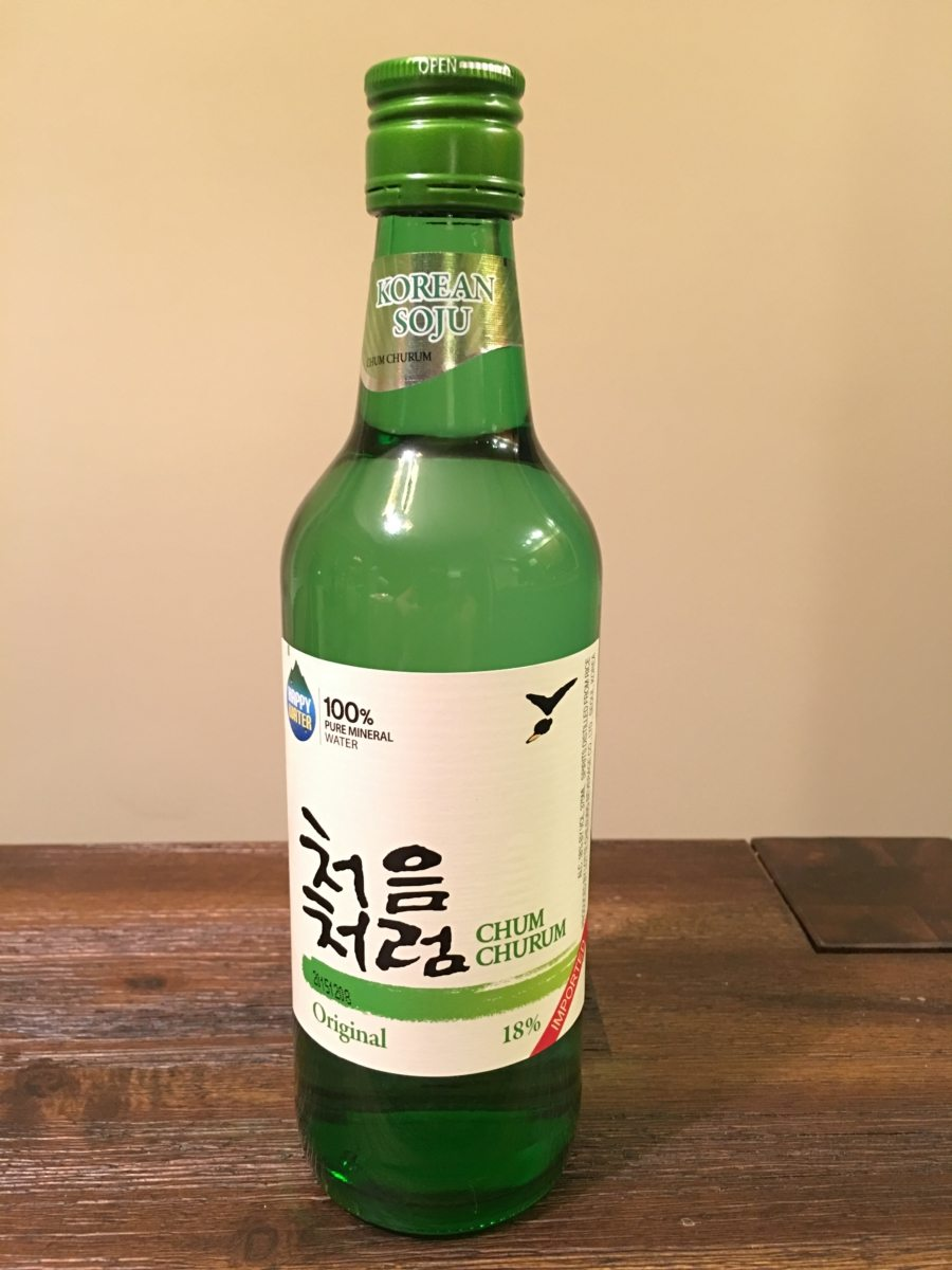 best flavored soju other soju tested chum churum soju