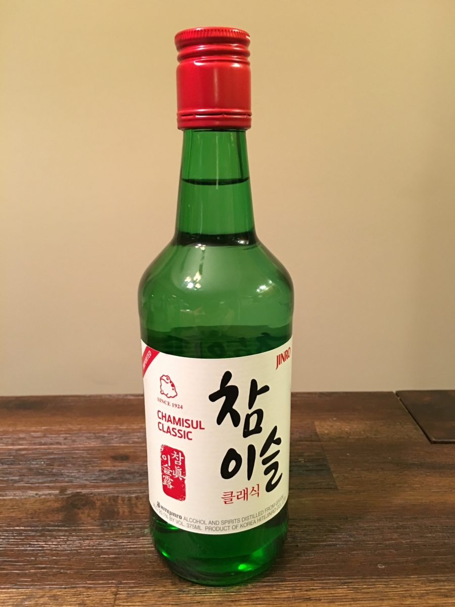other soju tested chamisul classic soju