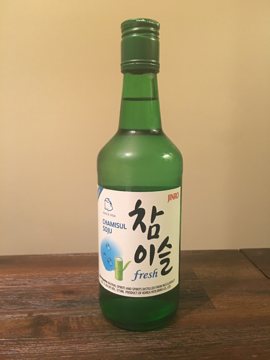 runner up best soju in america chamisul fresh