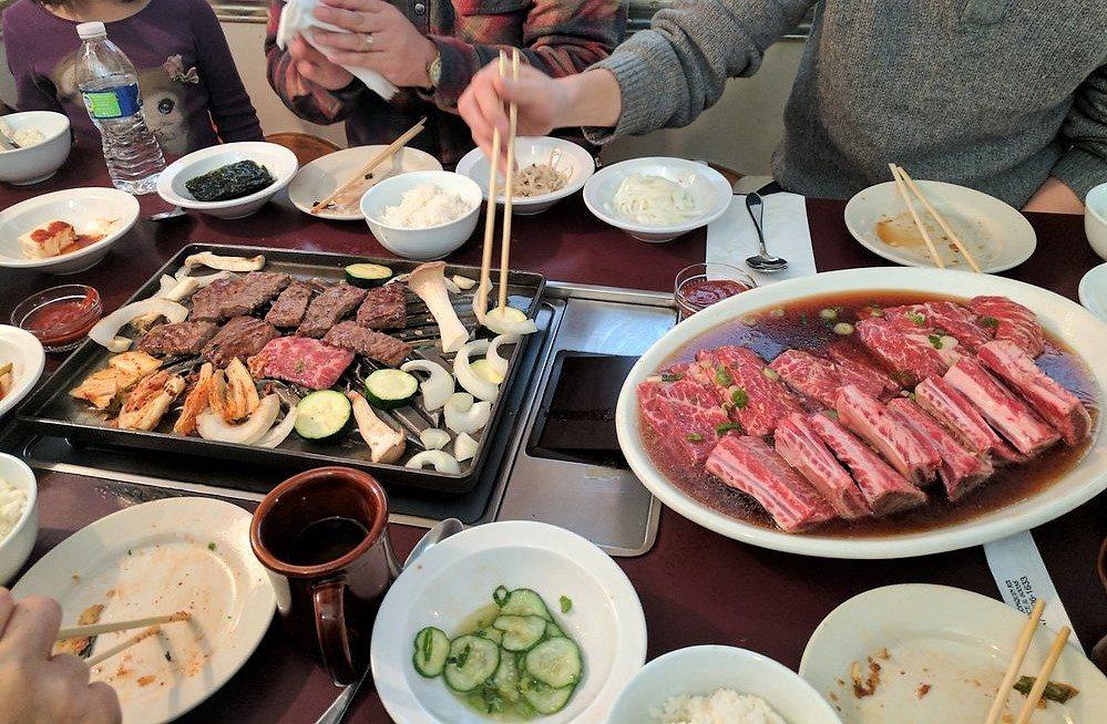 korean bbq galbi chungkiwa restaurant illinois