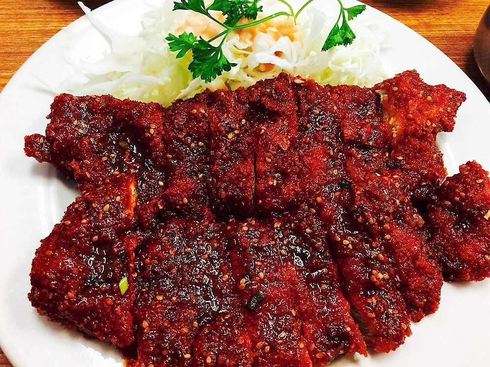 spicy chicken katsu willow tree restaurant hawaii