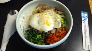 Pork Bibimbap Korean House Wyoming