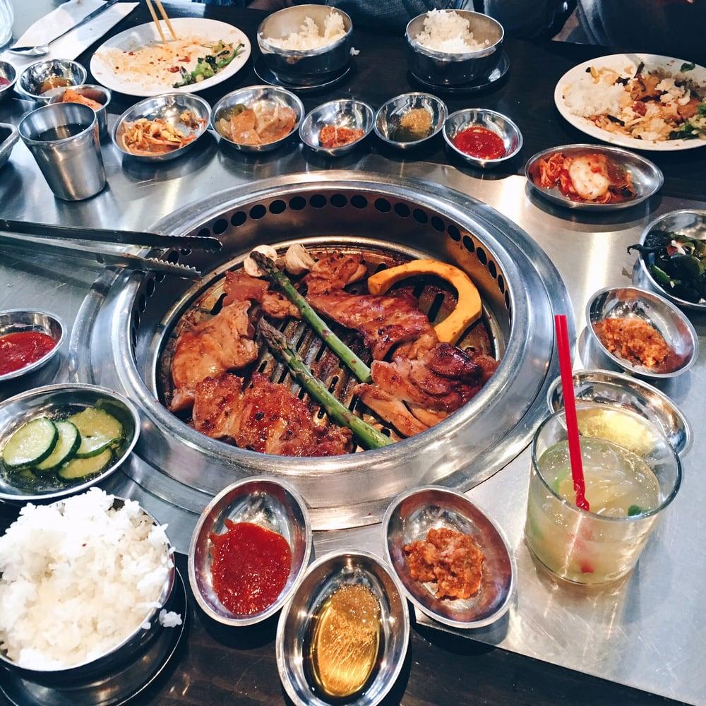korean bbq grill tomukun korean barbecue michigan