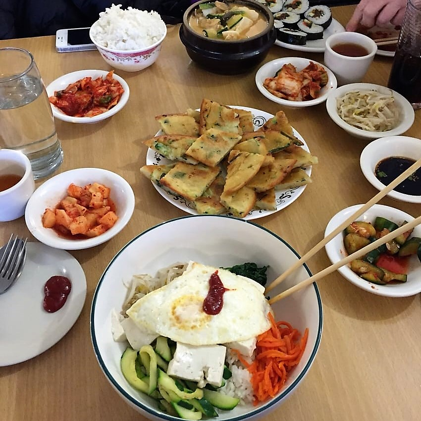 pajeon scallion pancake woo jung restaurant massachusetts