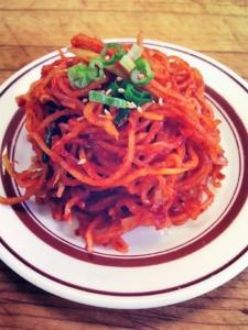 Radish Kimchi Shin-La Restaurant and Sushi Bar Brattleboro Vermont
