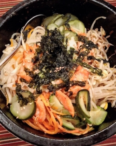 Shira Kiku New Hampshire Salmon Bibimbap