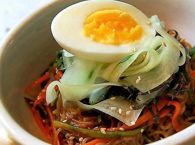 Spicy Nang Myun Ko Cha Asian Restaurant Charleston South Carolina