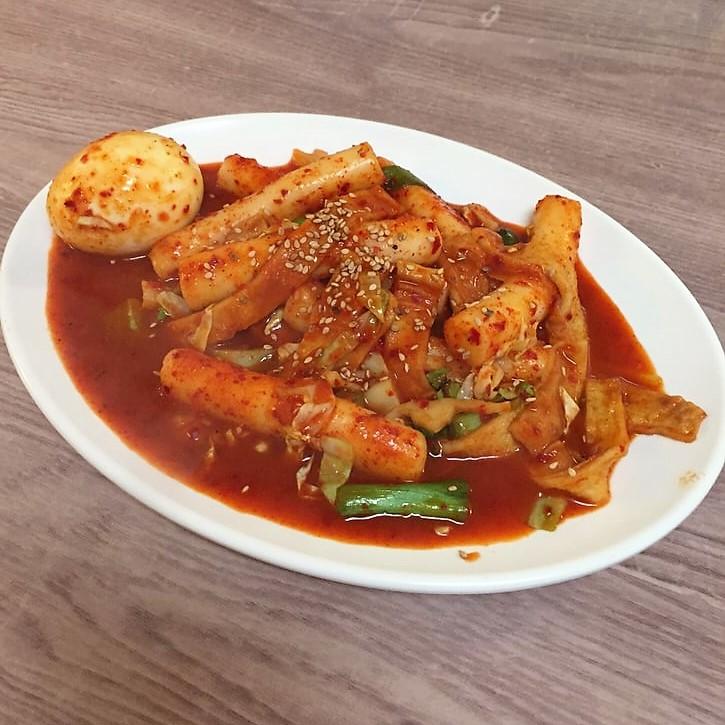 ddeokbbokki spicy rice cake seoul garden ohio