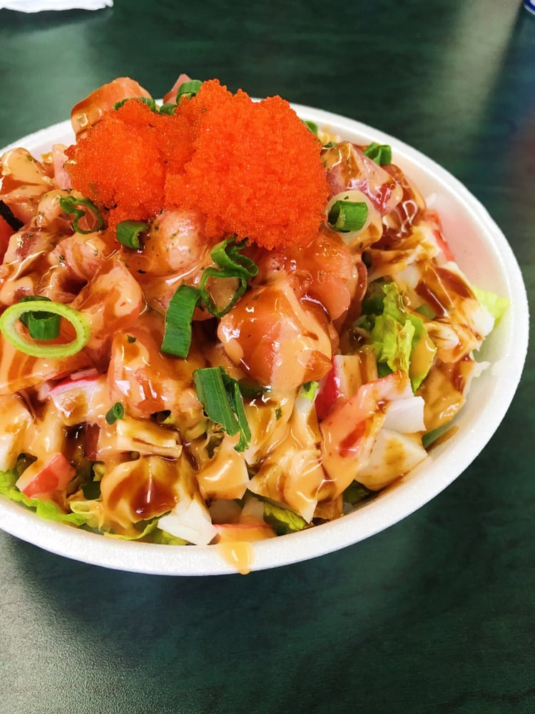 poke bowl top bop alaska