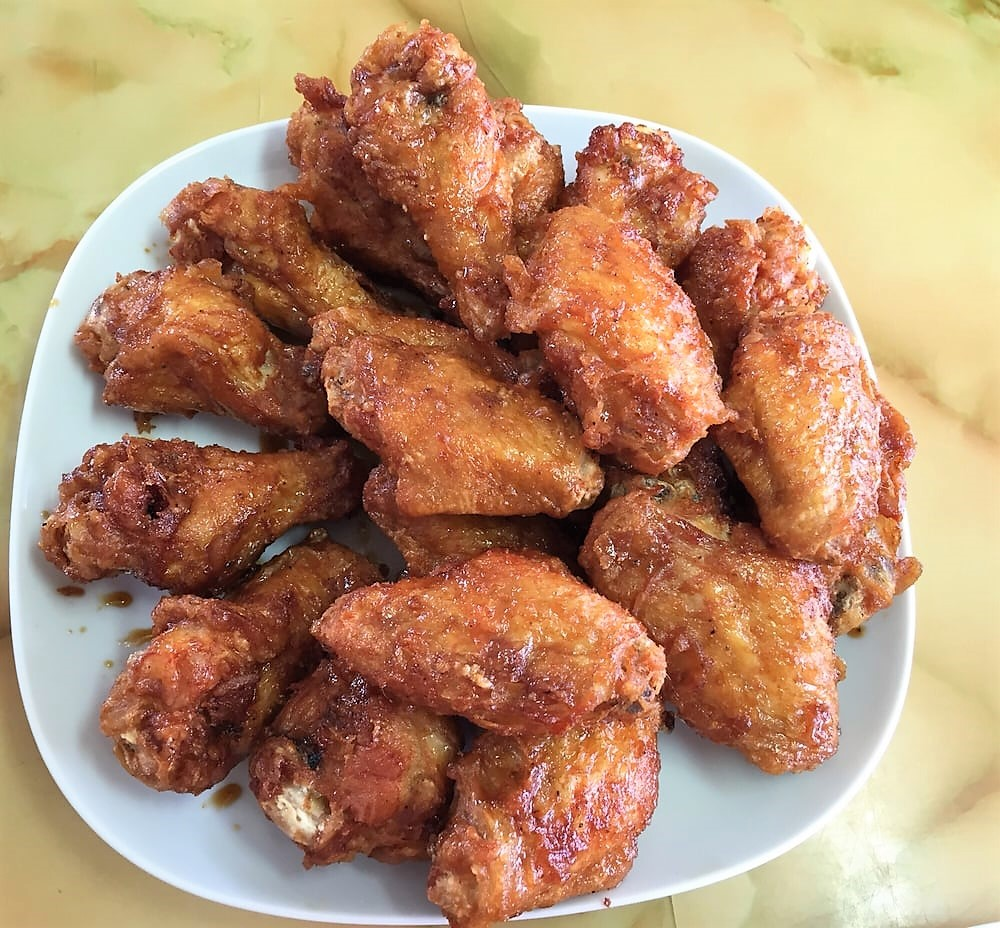 soy garlic korean style wings peck peck korean style chicken new jersey
