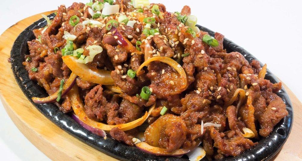 spicy pork bulgogi mr wok idaho