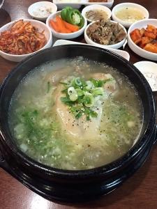 buil samgye tang samgyetang ginseng korean chicken soup