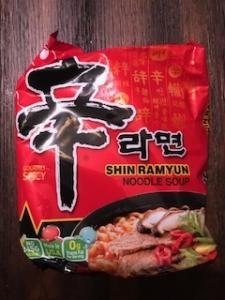 best spicy instant ramen - Shin Ramyun