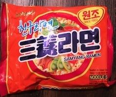 Korean Spicy Instant Ramens - Samyang Ramen