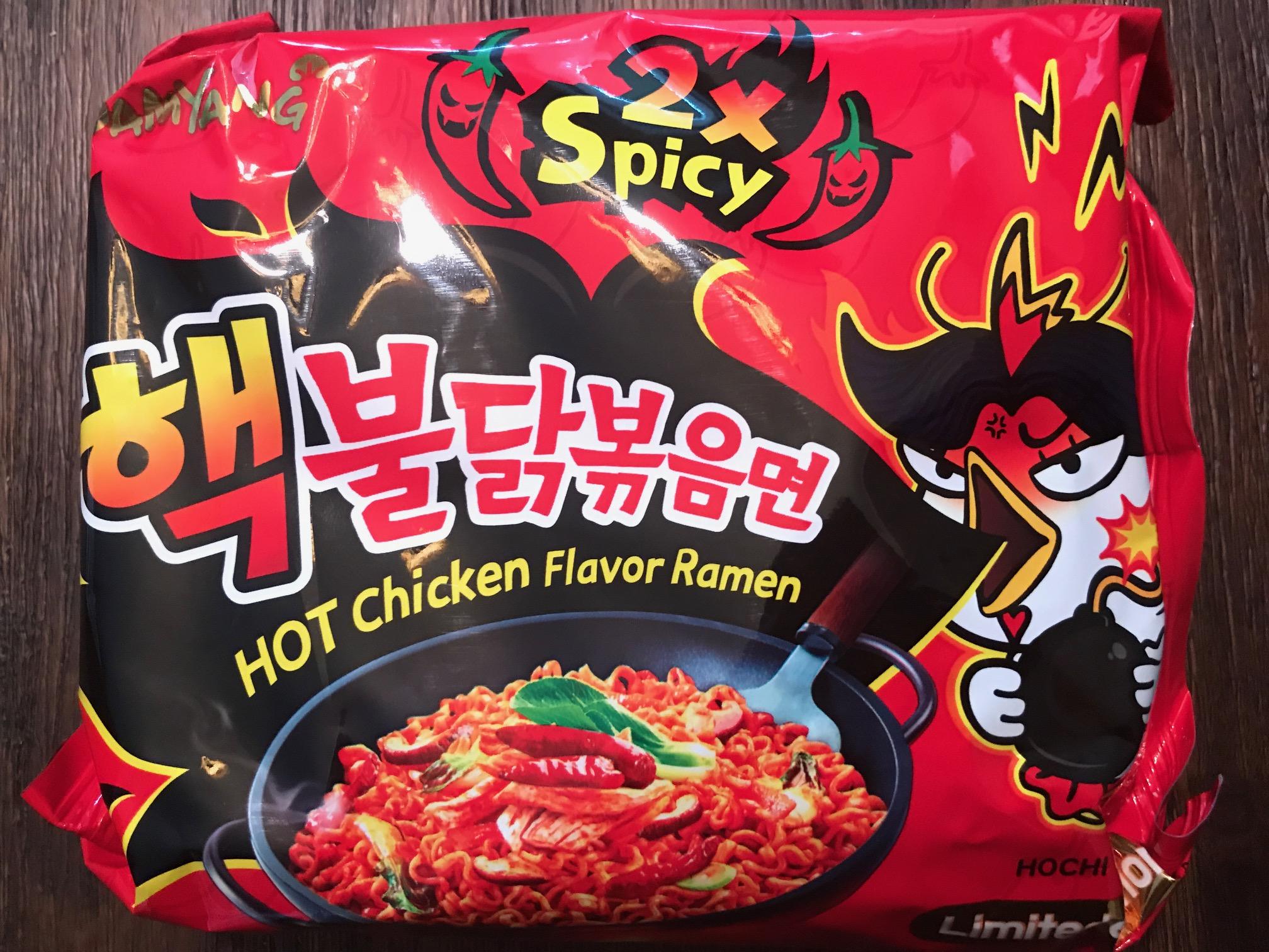 Best Korean Spicy Instant Ramen - Samyang Buldak Hot Chicken Flavor Ramen