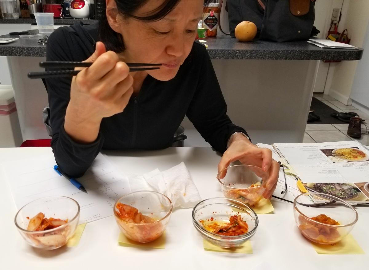 Best Kimchi - Mama Taste Testing
