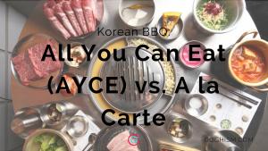 AYCE vs. A la Carte