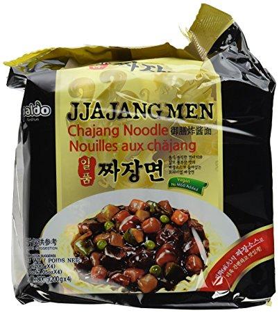 Paldo Jjajangmen No MSG best instant jjajangmyeon other competitors