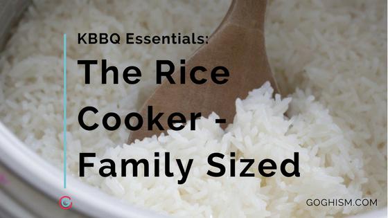 Korean BBQ Essentials: Best Medium Sized Rice Cooker [2019]