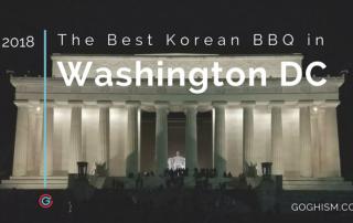 Best Korean BBQ in DC