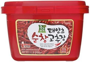 Best Gochujang Brand - Jongga Vision - Taeyangcho Sunchang Gochujang