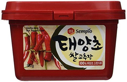 Best Gochujang Brand - Sempio - Taeyangcho Gochujang