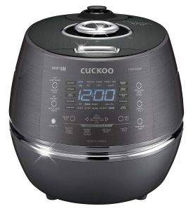 Best Induction Rice Cooker - Cuckoo CRP-DH06 Electric Pressure Rice Cooker