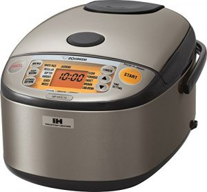 Best Induction Rice Cooker - Zojirushi NP-HCC10XH Induction Heating System Rice Cooker and Warmer